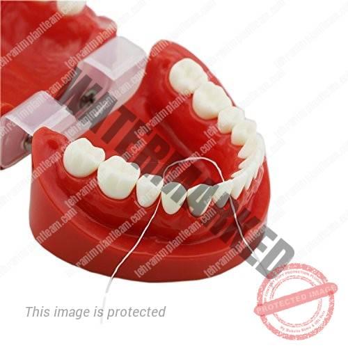 نخ دندان و سلامت لثه