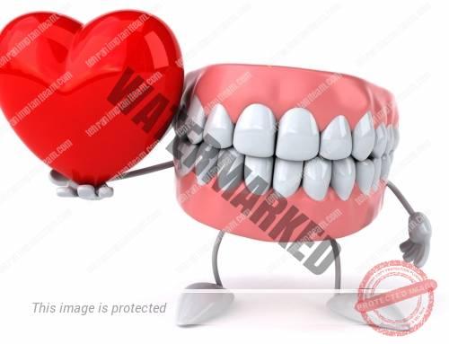 عفونت لثه و بیماری قلبی